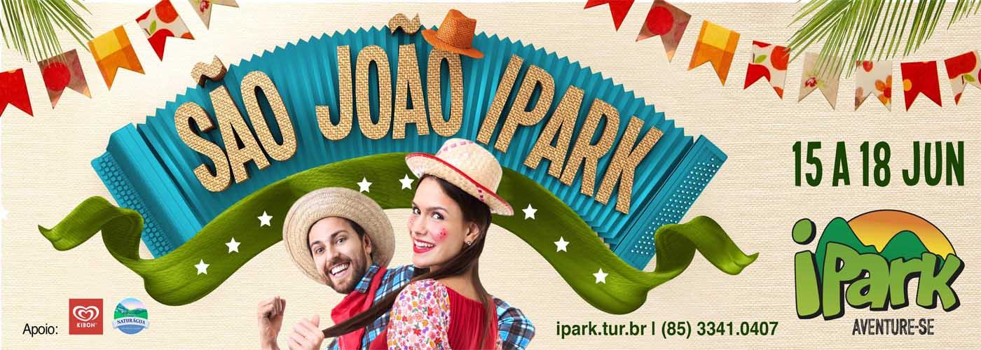 Arraiá de São João é no iPark